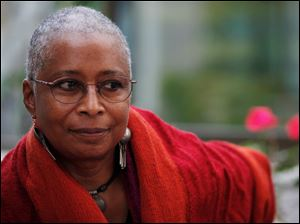 "Alice Walker wrote 'The Color Purple,"" among other books."