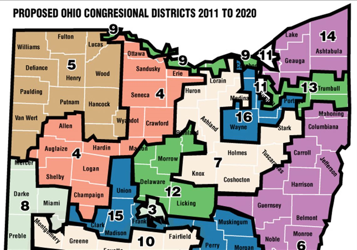 Ohio Senate Oks Redistricting Plan Toledo Blade
