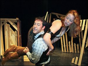 Shakespeare's 'The Taming of the Shrew' gets a Wild West twist in the production by the National Players at Owens Community College. Patrick Hogan and Alex Christine Highsmith star.