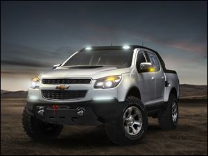 The concept version of the Chevrolet Colorado Rally was revealed earlier this year.