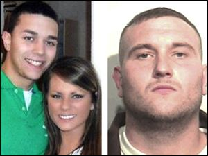 Samuel Todd Williams, 24, right, was arrested in the slaying of Johnny Clarke, 21, and Lisa Straub, 20, left.