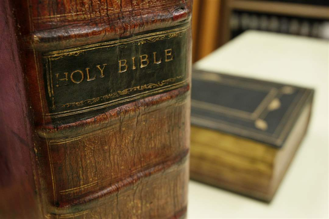 Rare King James Bible - The Blade