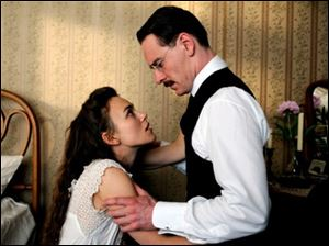 """A Dangerous Method,"" staring Kiera Knightly and Michael Fassbender, is slated to premiere in November."