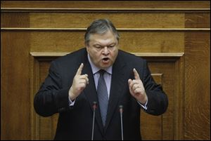 Greek Minister of Finance Evangelos Venizelos said the recent furloughing of 30,000 government employees will allow Greece to meet its budget targets.