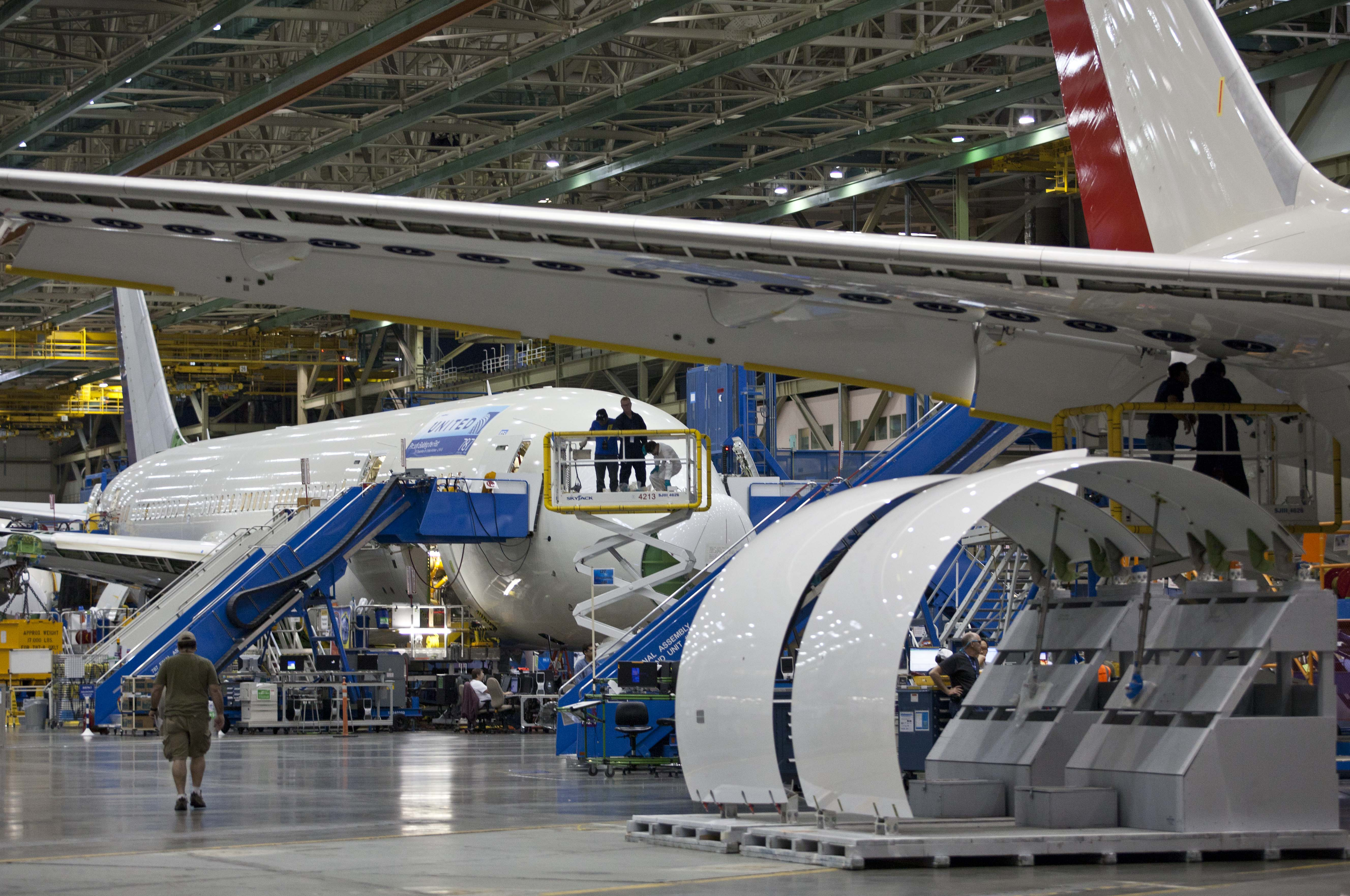 All Nippon Airways Of Japan Takes Delivery Of First Boeing 787 At Everett Wash Factory The Blade