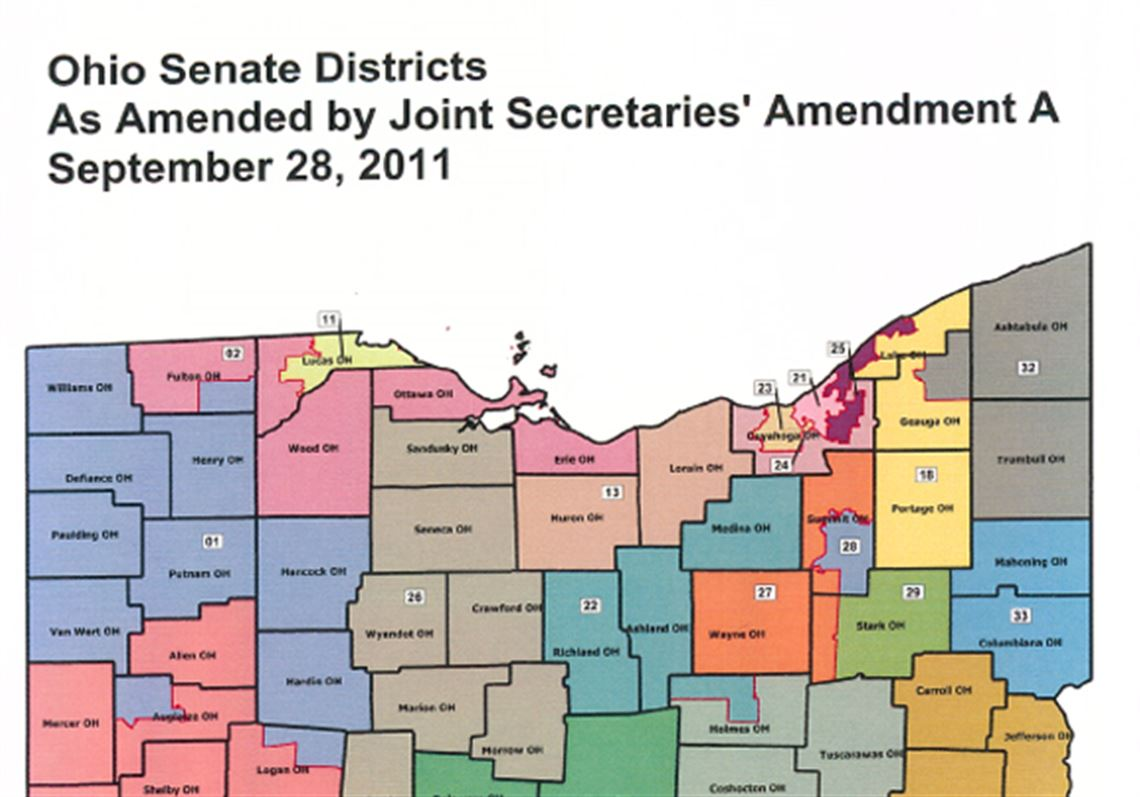 Panel Approves New Ohio Legislative Maps Toledo Blade