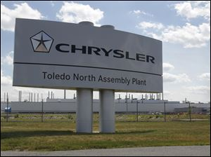Chrysler is asking to reduce the value of its Toledo North plant from $169 million to $125 million.
