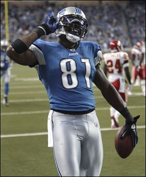 Calvin Johnson, dubbed Megatron, has been Stafford's go-to receiver.