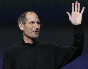 Apple co-founder Steve Jobs died Wednesday. He was 56.