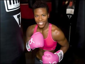 Ishika Lay, 32, from Jacksonville, Fla., had taken blows to the head. Her opponent was outside striking range when she collapsed.