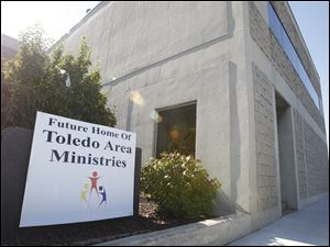 The facade of the new Toledo Area Ministries located at 3043 Monroe St.