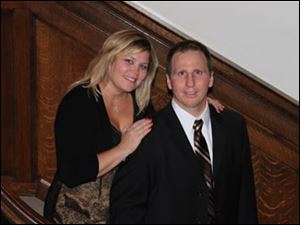 Kristi and Jon Molter. Mr. Molter is the school's new principal.