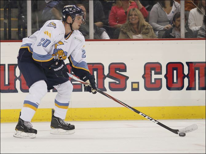 Phil Rauch, a St. Francis grad, played in his first pro game Saturday Phil Rauch, a St. Francis grad and a native of Lambertville played his first pro hockey game Saturday in front of friends and family.
