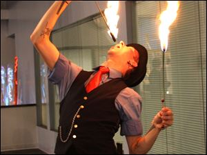 A fire eater at Bash 2.