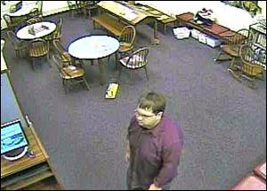 Police: Man fondled girl at library
