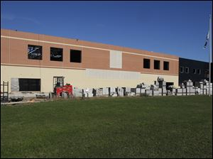Construction of the new Lake High School is underway in Millbury, Ohio.