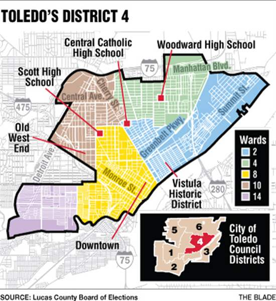 Toledo District 4 council candidates are neighbors The Blade