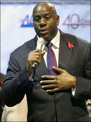 Magic Johnson's success since his diagnosis has changed perceptions about the illness, which, statistics say, is still a terrible plague.