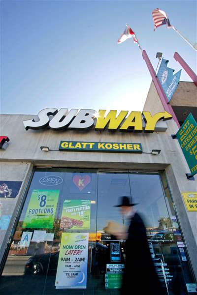 Subway-kosher-restaurants-Los-Angeles