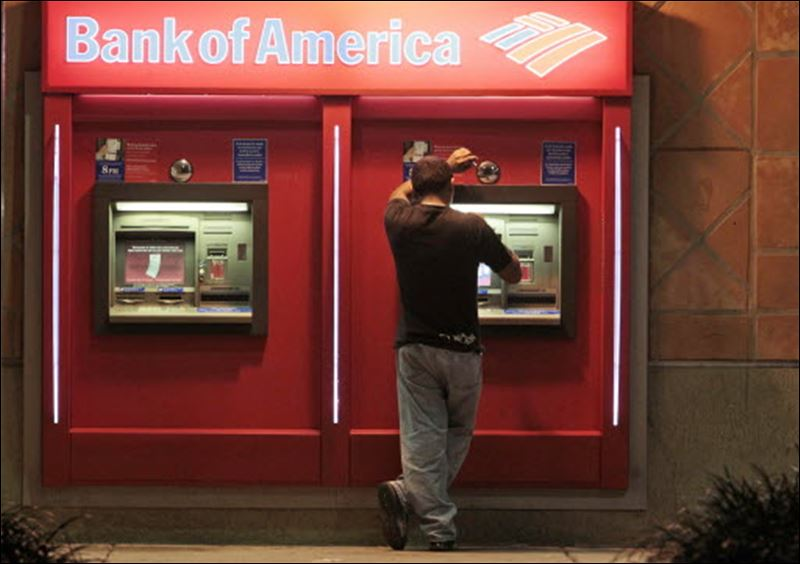 how to get a new atm card bank of america