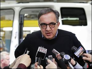 """The decision we made clearly demonstrates the confidence we have in the Toledo Assembly complex, in its future, and moreover, in the commitment and quality of work of the people who work here,"" Chrysler CEO Sergio Marchionne said Wednesday"