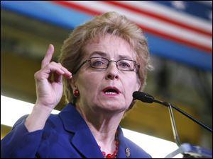 U.S. Rep. Marcy Kaptur said the Jeep brand symbolized the Toledo workforce: