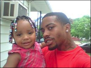 D. Green and  his daughter D'Asia.