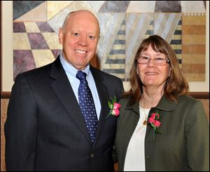 Robert and Patricia Mauerer were named the 2011 Outstanding Philanthropists.