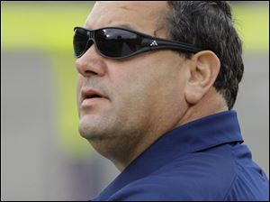 Michigan coach Brady Hoke led the Wolverines to a 10-2 regular season.