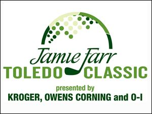 The new logo of the Jamie Farr Toledo Classic features all three sponsors.
