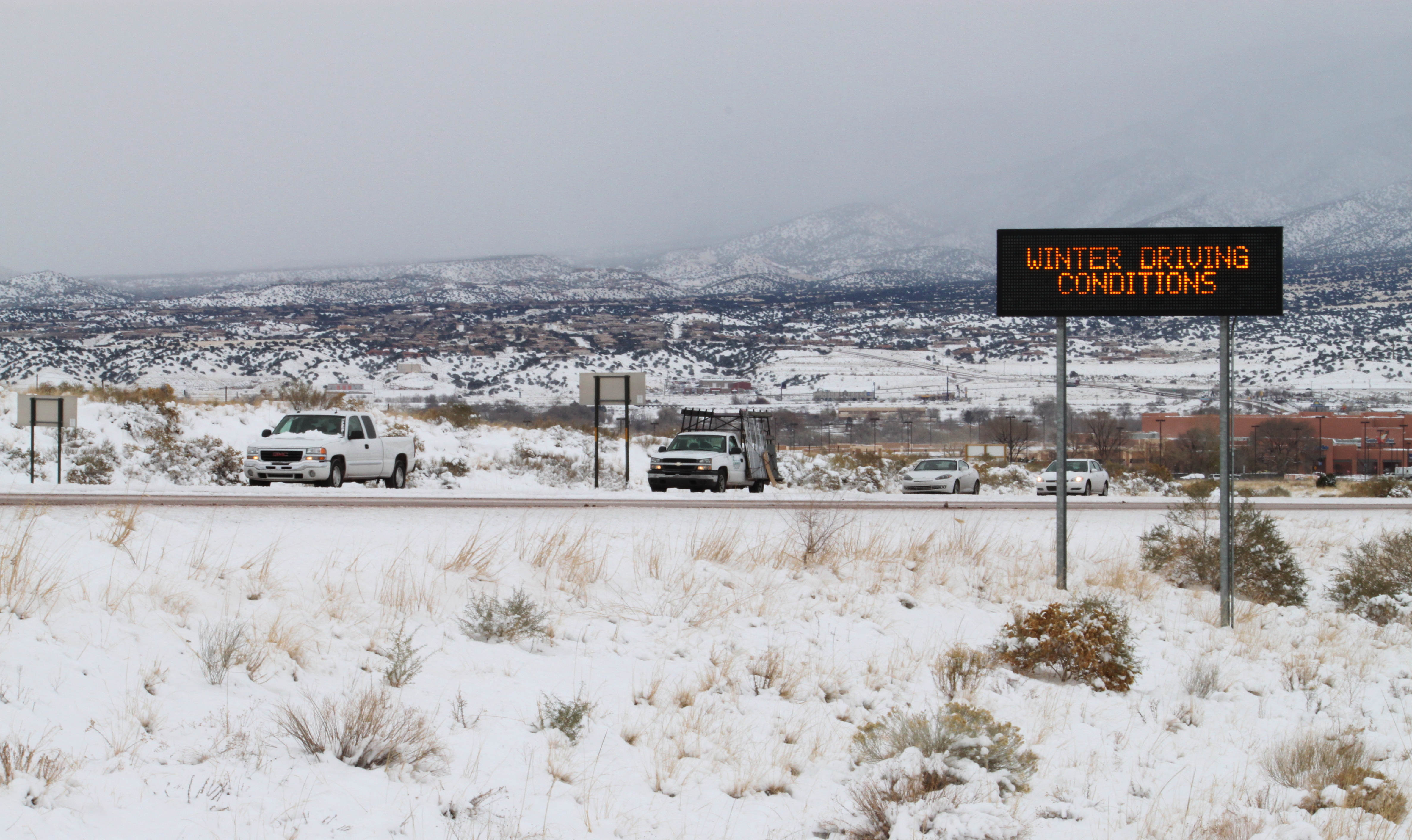 Winter Storm Blankets Most Of New Mexico With Snow The Blade