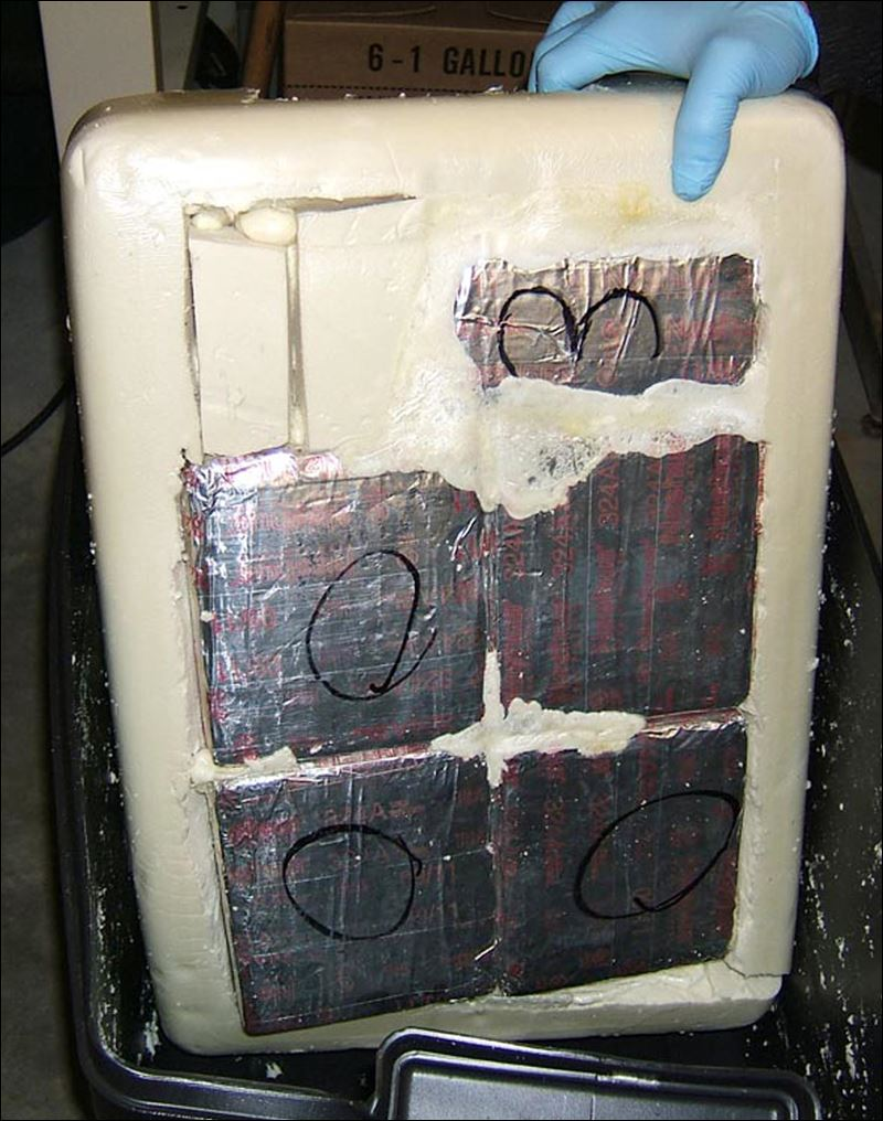 More than 17 pounds of suspected heroin, thought to be valued at more ...