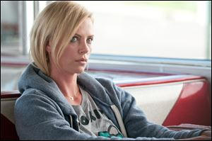 Charlize Theron portrays Mavis Gary in a scene from 'Young Adult.'