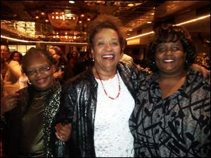 Frances Collins, Barbara Tucker, and Amber Hawkins.