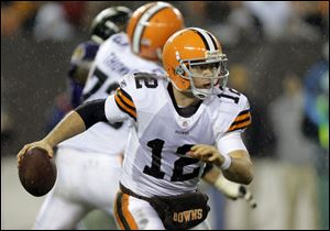 Browns quarterback Colt McCoy did not travel to Arizona on Saturday with the team as he continues to suffer from concussion-related symptoms. Seneca Wallace, who spent several seasons as a backup in Seattle, will start in his place Sunday. Wallace has experience facing the Cardinals from his days as a member of the Seattle Seahawks.
