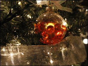 An ornament from the Imagination Station tree.