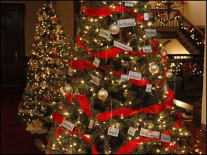 The  Toledo School for the Arts tree.