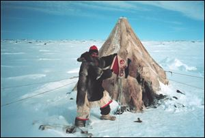 Steve Pollick, The Blade's outdoors editor for 28 years, traveled to the central Arctic of Canada to experience the traditional and modern lifestyles of the Inuit people in 1997.
