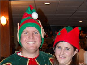 Pete and Dayna Millon at the James Millon Order of the Elves event.