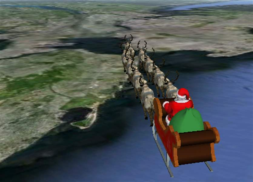 Santa-arrives-in-NYC