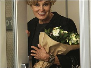 "Jessica Lange is shown in a scene from ""American Horror Story."" Lang was nominated Dec. 15 for a Golden Globe award for best supporting actress in a mini-series of motion picture made for TV."