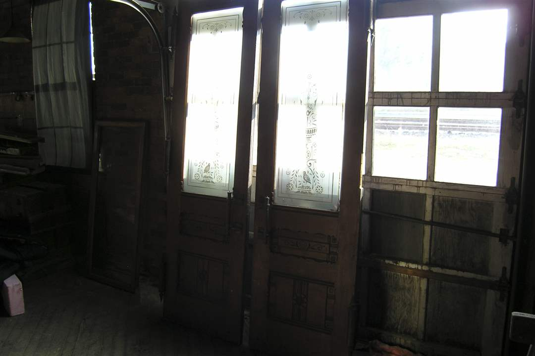 Interior-north-doors