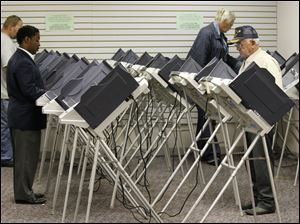 Lucas County Board of Elections will open the early vote center, 1302 Washington St., on Jan. 31. The Board of Elections recently voted to extend hours at the center twice a week.