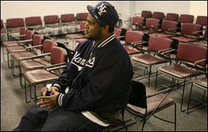 Cedric Mills, out of work for months and on the verge of poverty, said he never expected to be in this situation.