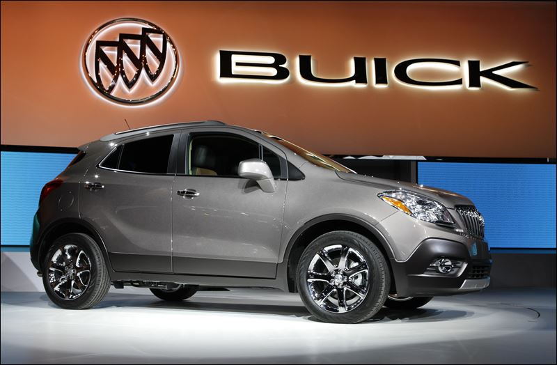 The 2013 Buick Encore debuts Tuesday at the North American