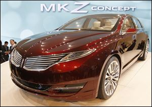 Lincoln hopes its MKZ concept car is a big step in the reinvention of their brand. Designer Solomon Song said the firm is 'trying to bring the luxury back where it's exclusive, mysterious, and elegant.'