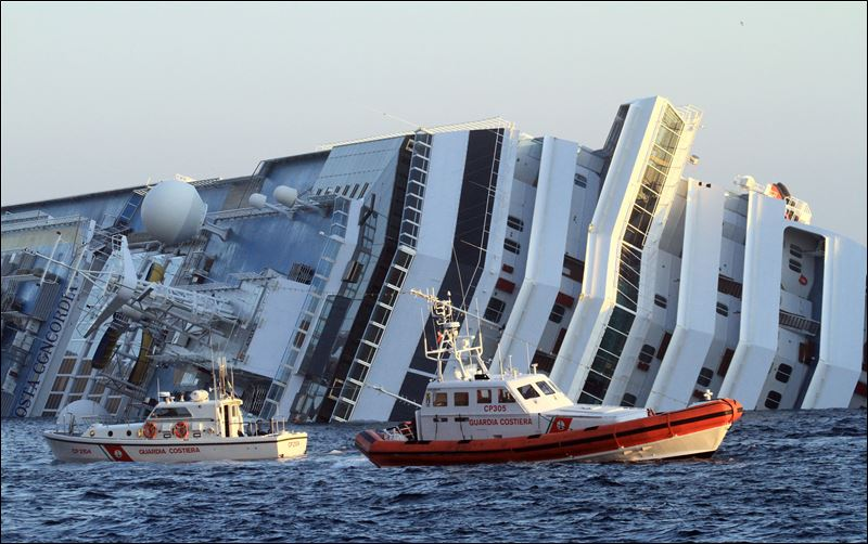 CruiseShip Capsized On The Coast Of Italy General Discussion - The inside of a cruise ship