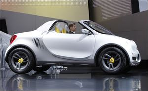 The Smart-For-Us miniature pickup is one of the concept cars at the show whose maker says it might not be built. Concept cars used to go for the 'wow' factor, experts say, but when they arrived in showrooms, the public was disappointed.