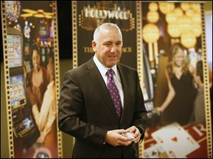 Richard St. Jean, general manager of the Hollywood Casino.