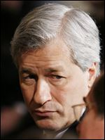Jamie Dimon, chief executive officer of JP Morgan Chase.